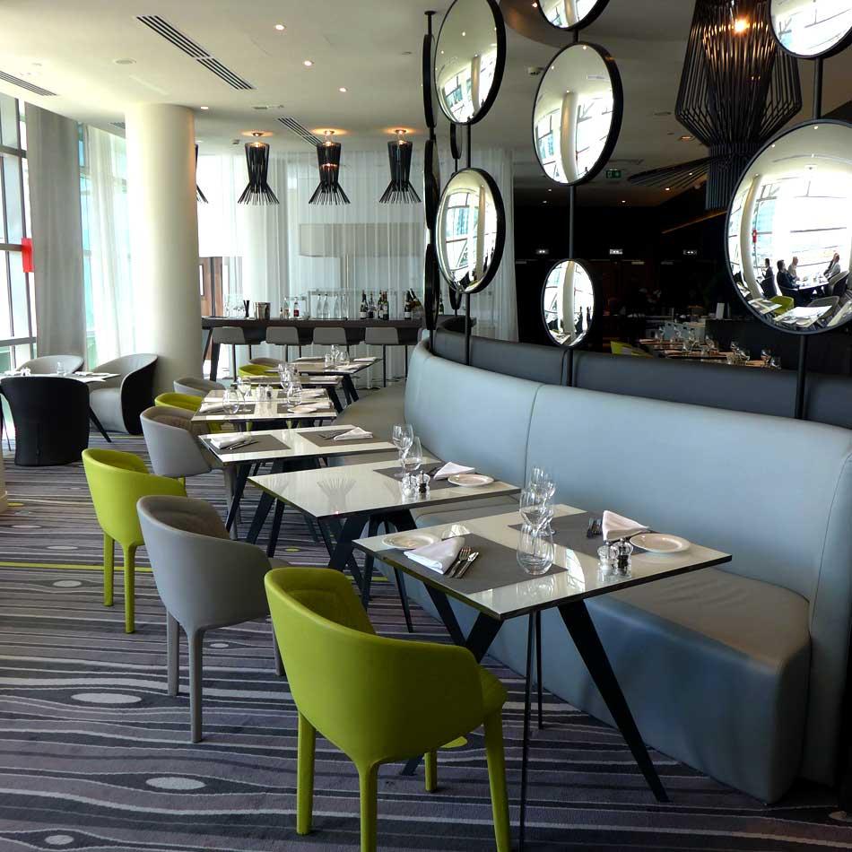 Restaurant Le Miroir : La salle