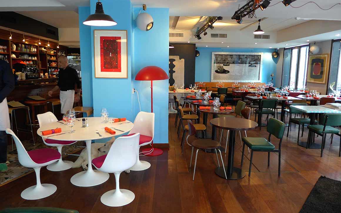Café Colette : La salle