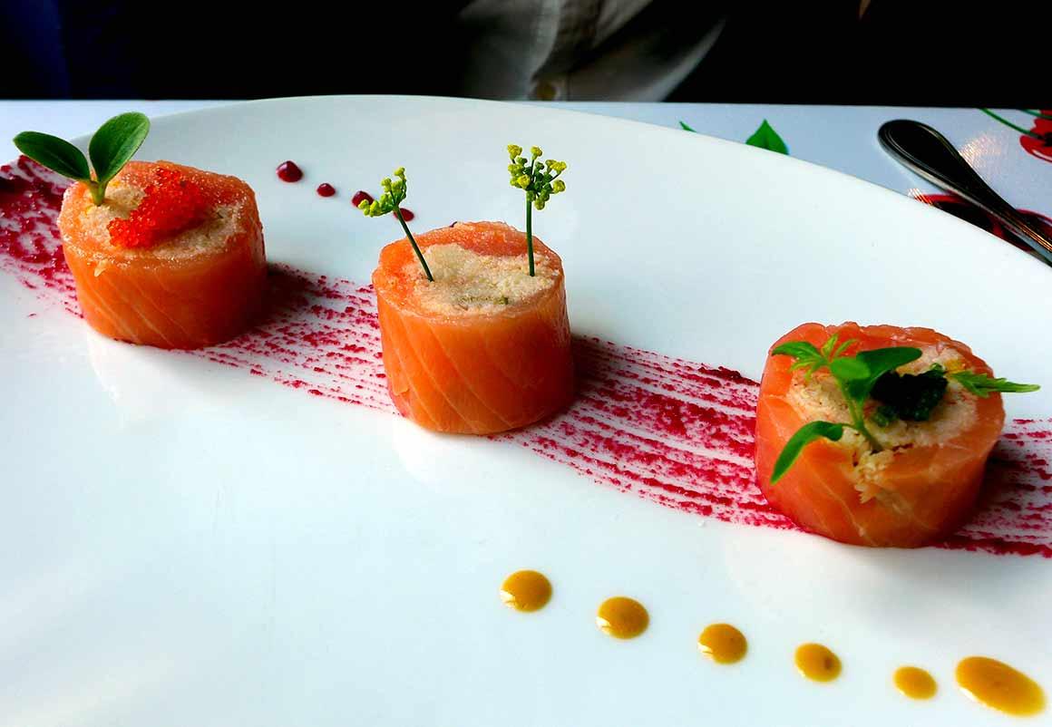 Café Colette : Rollmops de saumon fumé