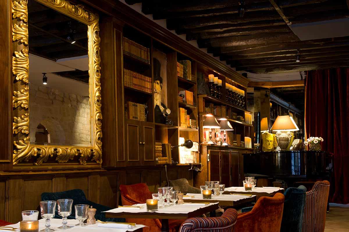 Restaurant Le Monteverdi : La salle