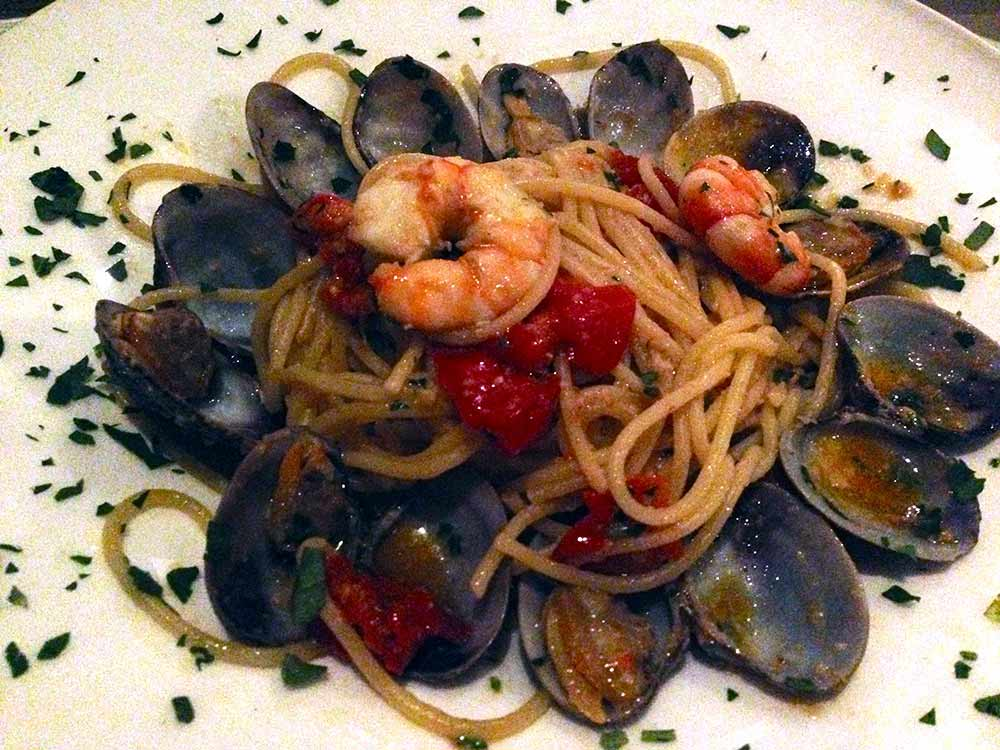 Restaurant Le Monteverdi : Spaghetti aux palourdes