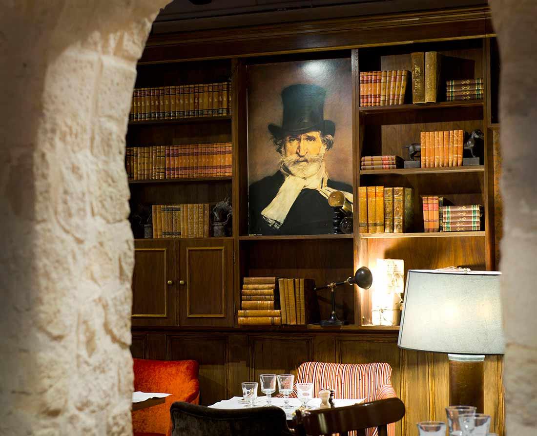 Les salles cosy du Monteverdi