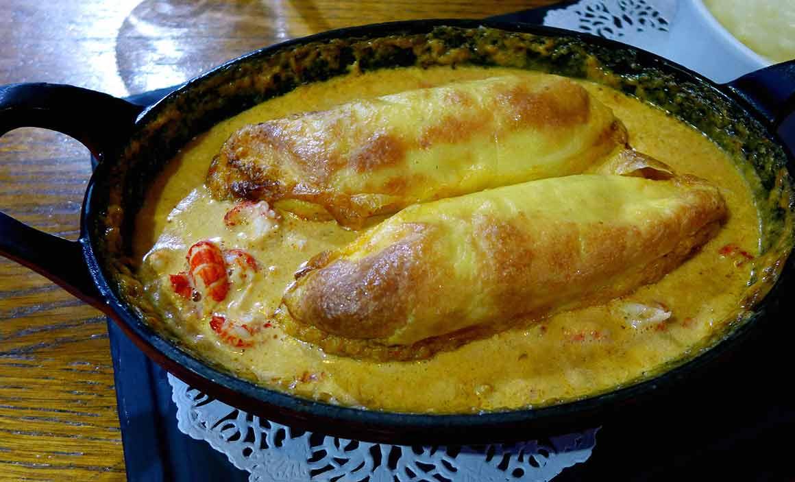 Bistrot Le Montrosier : Quenelle de brochet sauce homardine