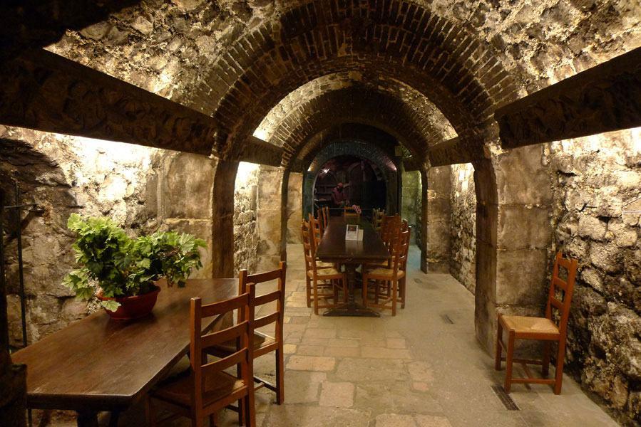 Le Musée du Vin, Une cave voutée