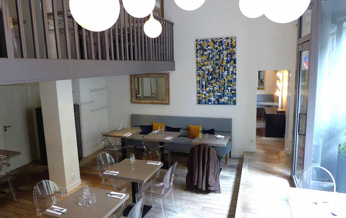 La salle du restaurant Le 122