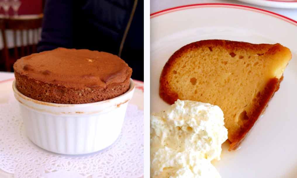 Bistrot Chez Fred, Soufflé au chocolat