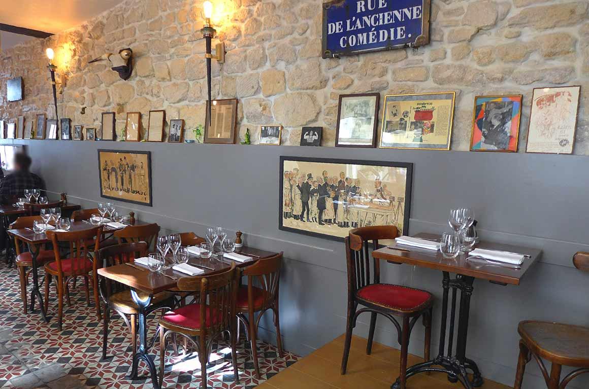 Restaurant Roger la Grenouille, la décoration