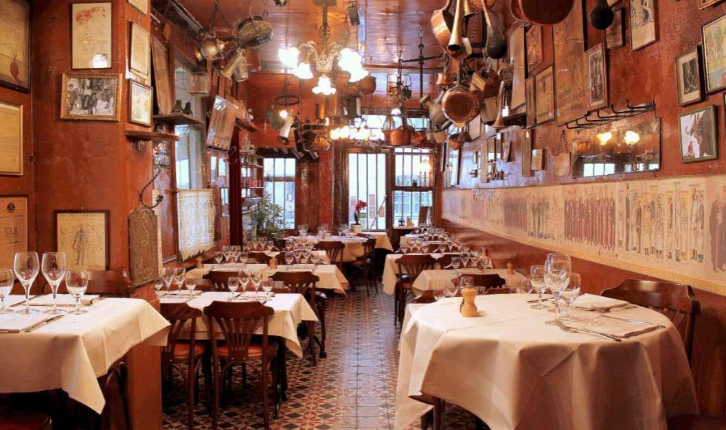 Restaurant Roger la Grenouille, la salle