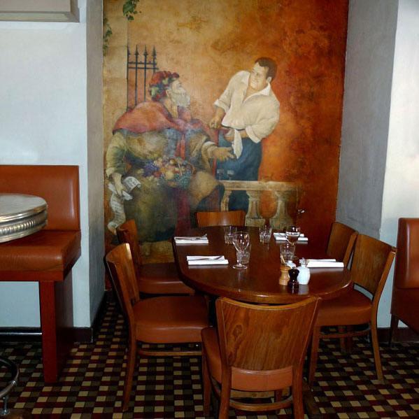Restaurant Le Père Claude, La salle