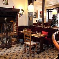 Restaurant Le Perroquet Vert, la salle