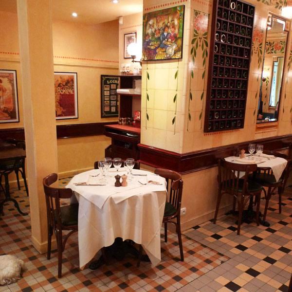 Bistrot Le Petit Rétro, La salle du restaurant