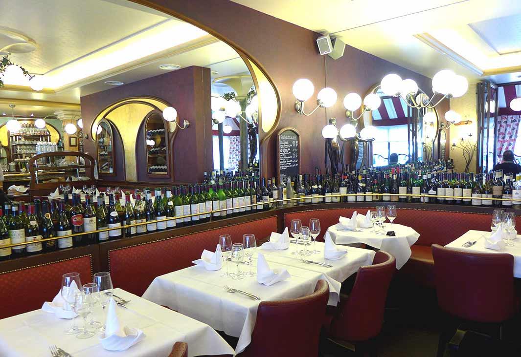 Restaurant Le Petit Sommelier : La salle
