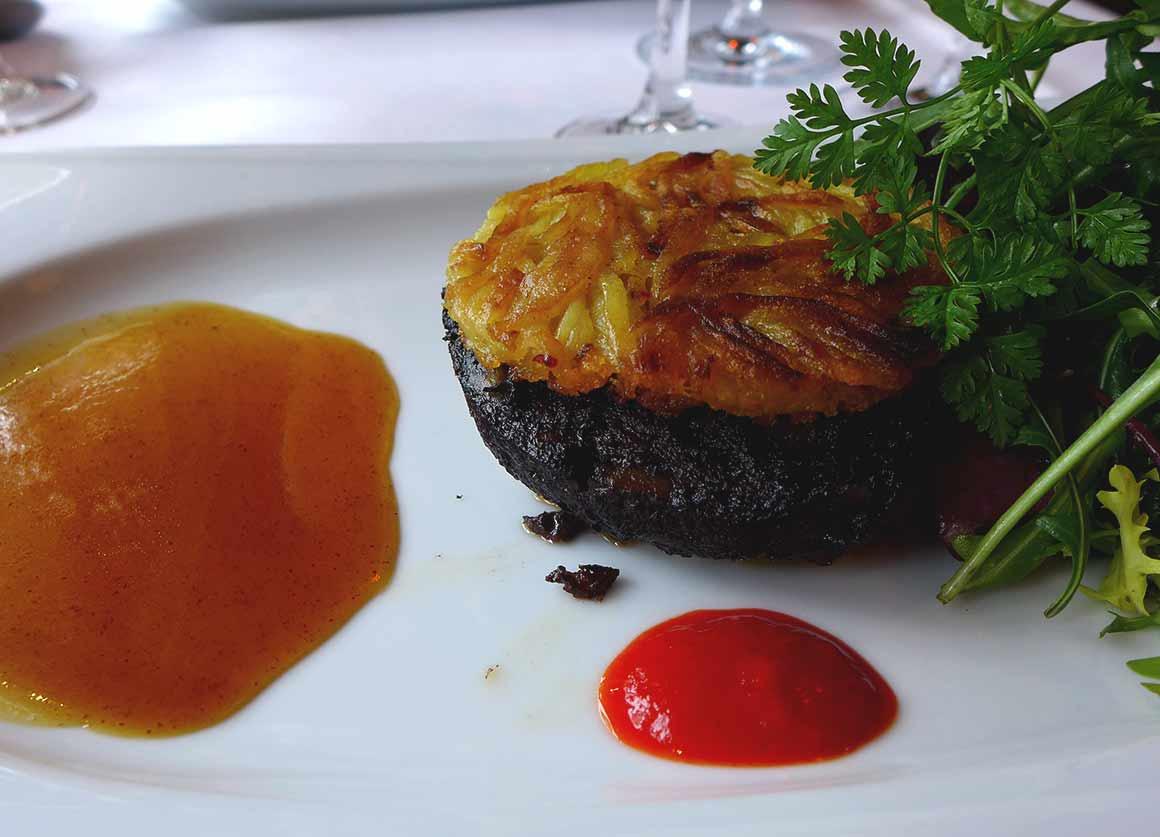 Restaurant Le Petit Sommelier, Croustillant de boudin noir