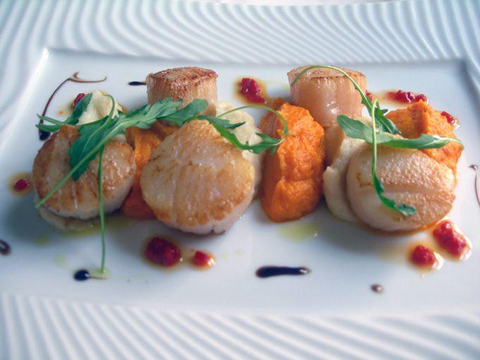 Restaurant Poulpry, Noix de Saint-Jacques
