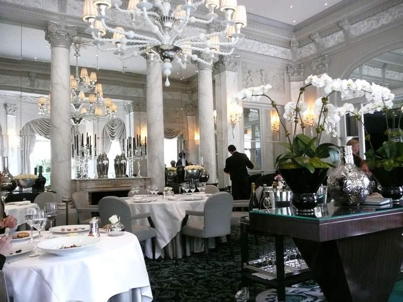 Restaurant Le Pré Catelan, la salle