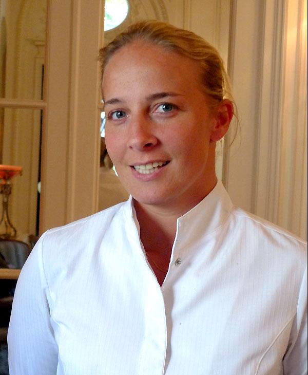 La chef Amandine Chaignot