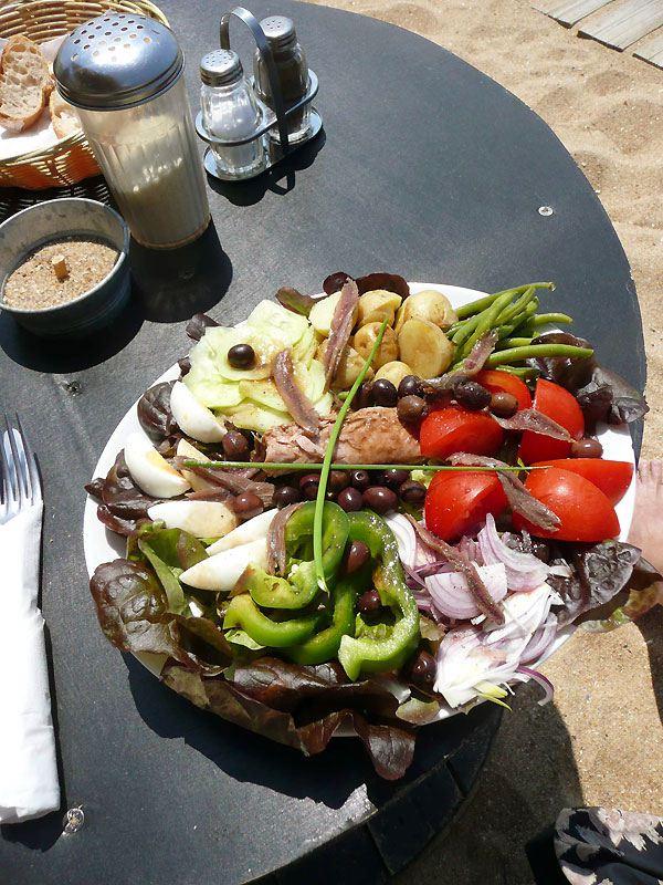 Restaurant Le Récif : La salade niçoise