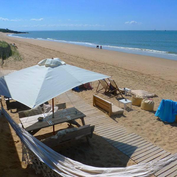 Restaurant Le Récif : Soleil, mer et sable fin