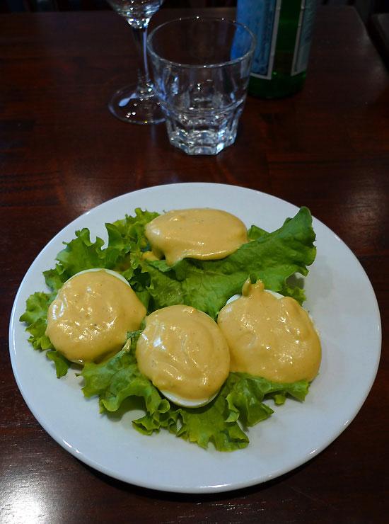 Bistro Régent, oeufs mayonnaise maison