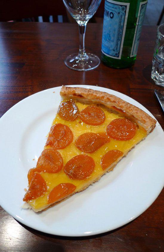 Bistro Régent, tarte aux abricots
