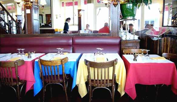 Salle du restaurant Le Relais de Venise