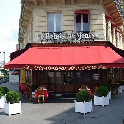 Le restaurant Le Relais de Venise