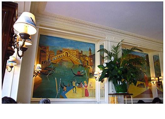 Restaurant Le Relais de Venise : Une fresque de Venise