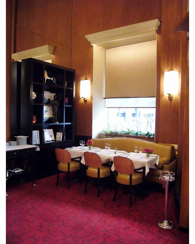 La salle du Restaurant Le Relais Plaza