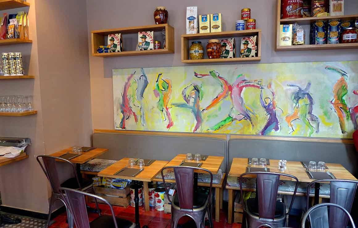 Restaurant Il Russo, La salle