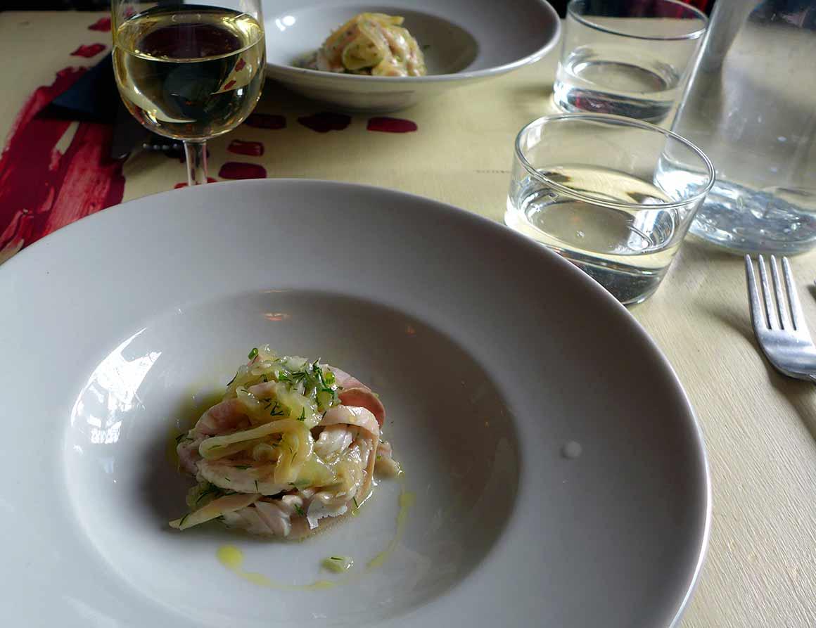 Restaurant Le Rendez-Vous des Chauffeurs : Gougeonettes de maquereau au citron