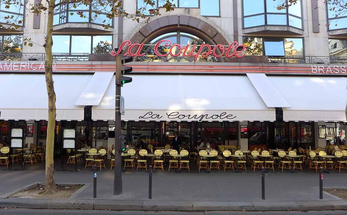 Restaurant La Coupole, la nouvelle terrasse