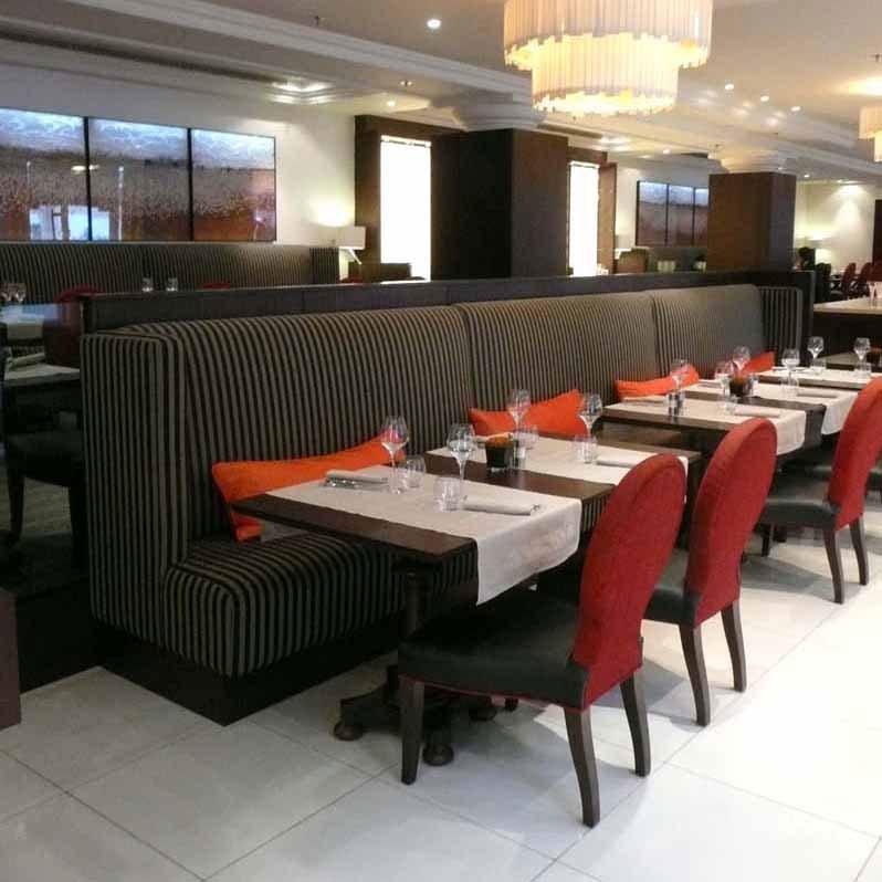 Restaurant du Marriott, la salle