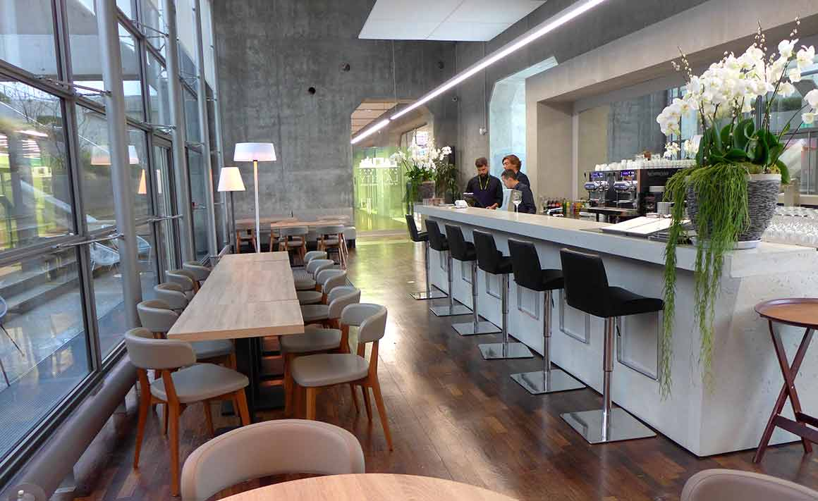 Restaurant LA CITY : La salle