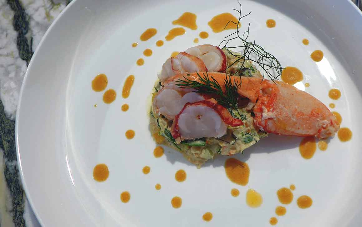Restaurant ZEBRA : Le homard à la parisienne