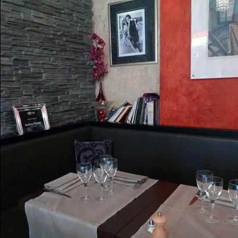 Restaurant Le Rital, Décoration contemporaine chic