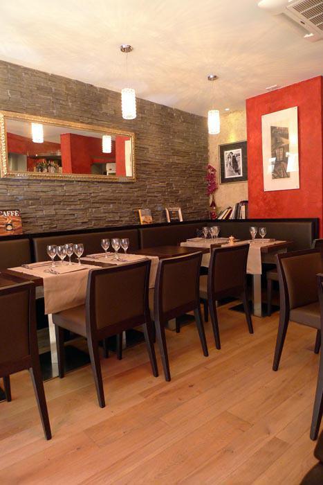 Restaurant Le Rital, La salle