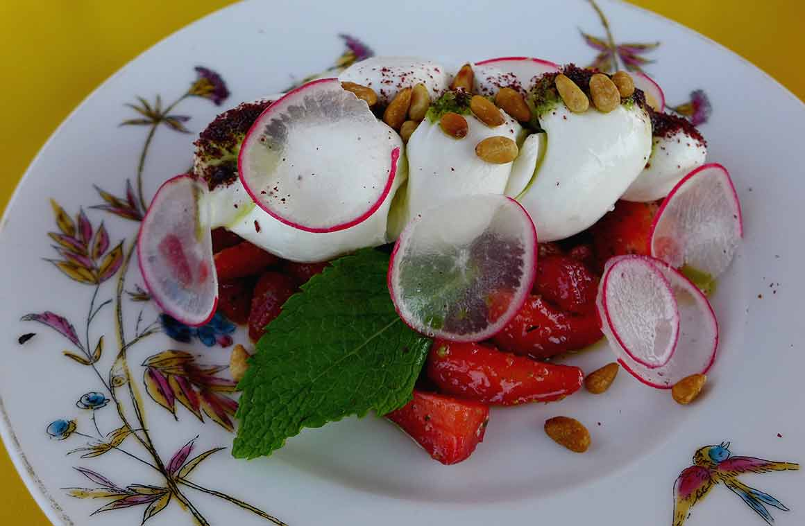 Restaurant Créatures : Straberry Fields Forever