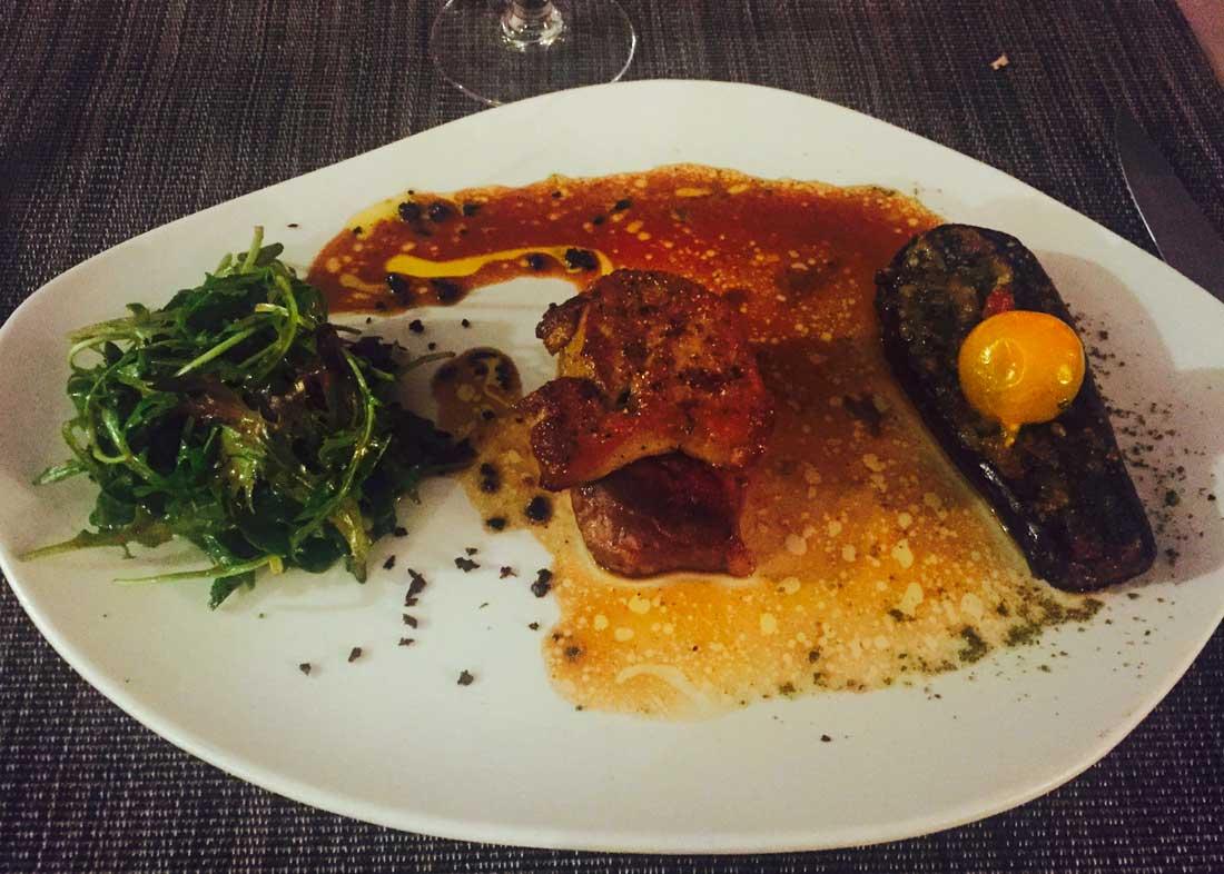 Restaurant LE SAINT GEORGES: Pièce de cochon, foie gras