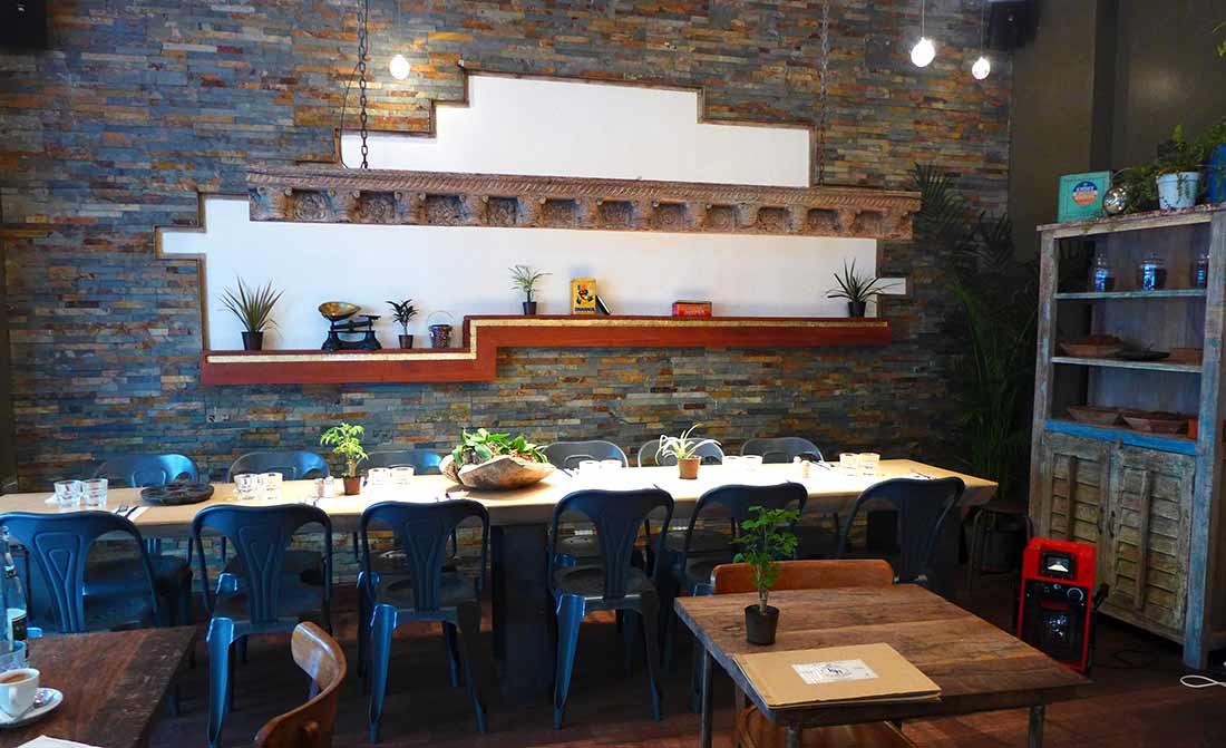 Restaurant Le Spicy Home, la salle