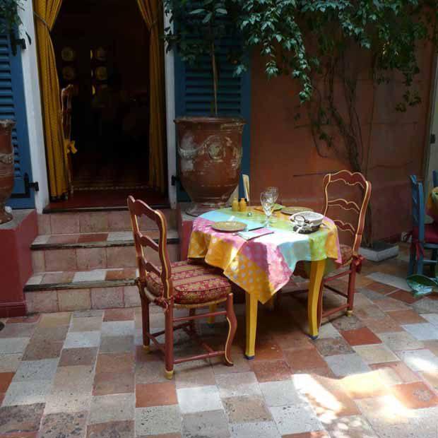 Restaurant Le Sud, Un air de Provence
