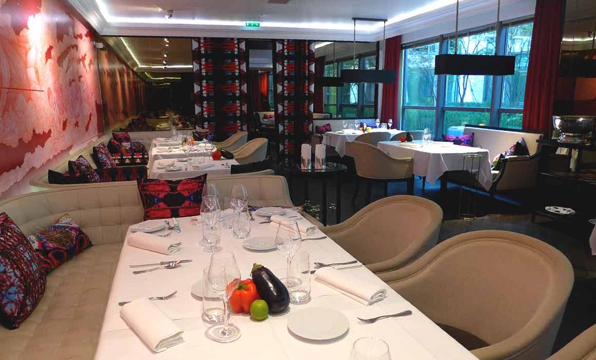 Restaurant Masha, La salle