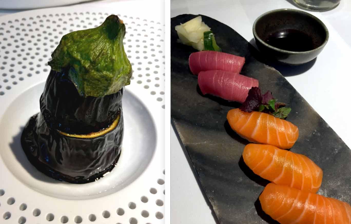 Restaurant Masha : Aubergine miso