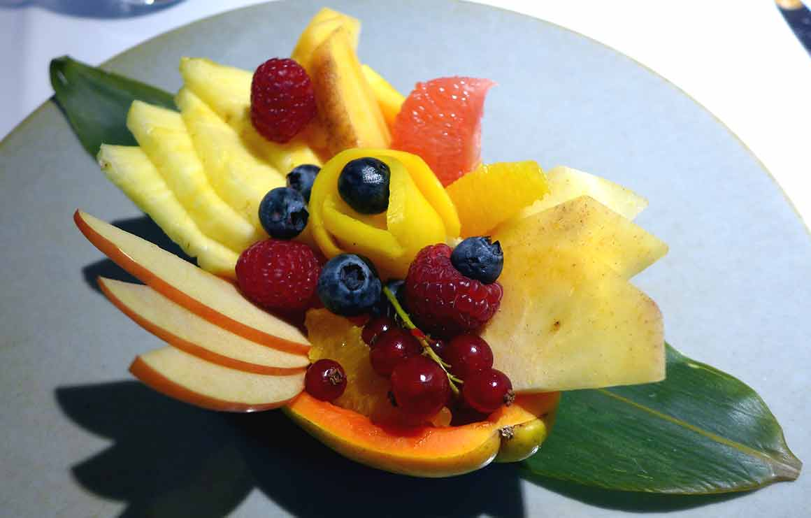 Restaurant Masha, Salade de fruits