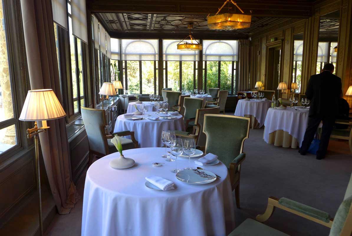 La salle du restaurant Ledoyen