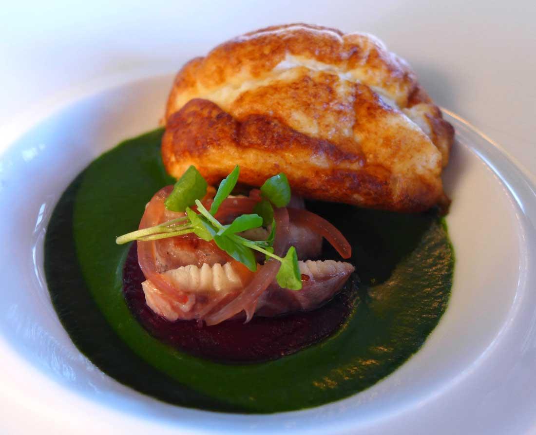 Restaurant Ledoyen : Soufflé d'anguille