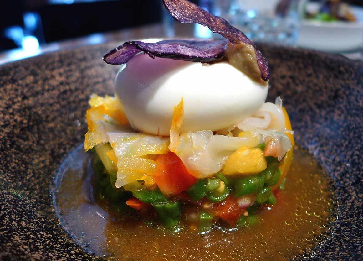 Restaurant L'Epi Dupin : Tomates plein champ