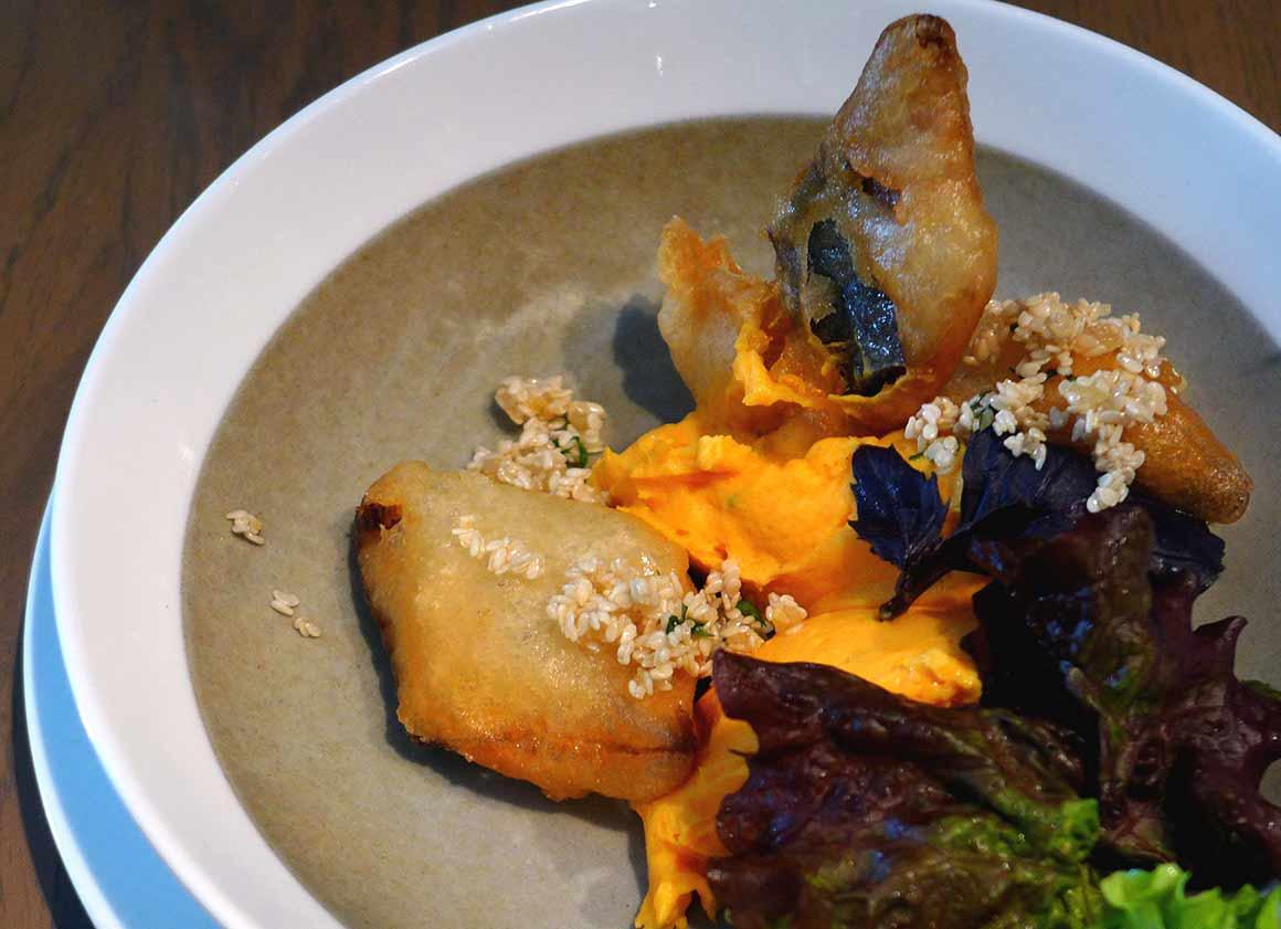 Restaurant L'Epi Dupin : Mousseline de patate douce