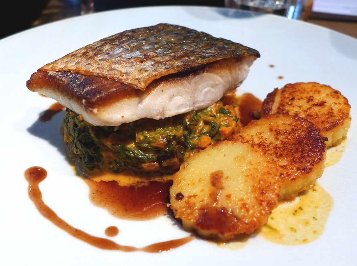 Restaurant L'Epi Dupin : Fondue de blettes