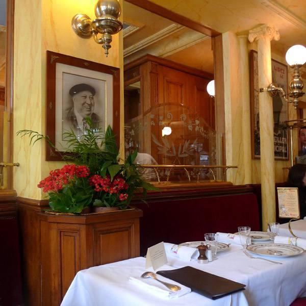 Restaurant Benoit, la salle