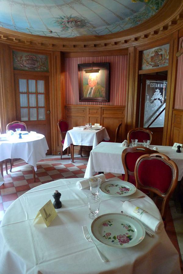 Restaurant Benoit, la salle à l'étage